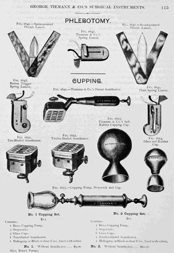 early phlebotomy tools